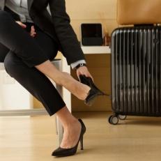 schoenen uit, schone vloer
