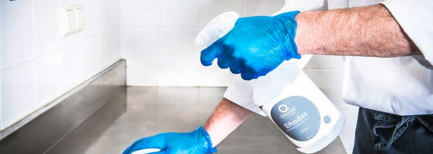 hygiene - geen klusje om zonder handschoenen aan te pakken